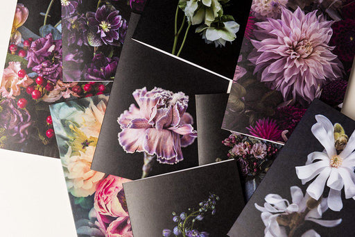 HB Collection of Floral Greeting Cards Set - mix of all 10 designs