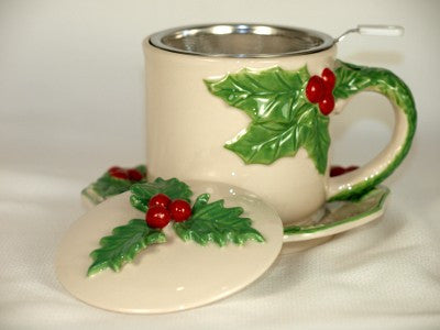 Holly Infuser Cup