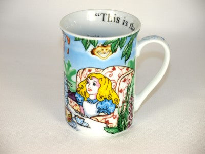Alice In Wonderland Cafe 9 oz. Mug by Paul Cardew