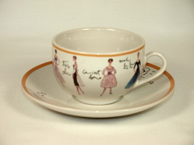 Vintage Fashion Teacup