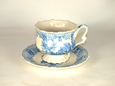 Blue Toile Teacup