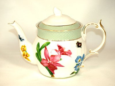 Orchid Medley Teapot