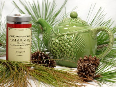 Evergreen Teapot
