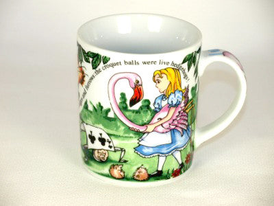 Alice In Wonderland  Cafe 12 oz. Mug by Paul Cardew