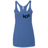 KOs Ladies' Triblend Racerback Tank Top