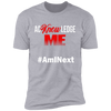 Acknowledge Me: #AmINext (White Font)
