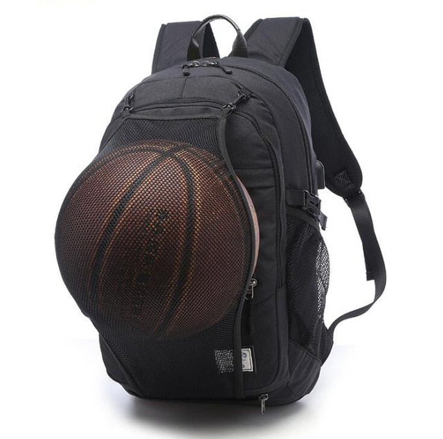 Basketball Backpack/ Laptop Bag  With USB Charger