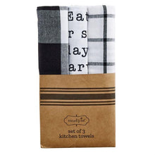 Load image into Gallery viewer, Today's Menu Kitchen Towel Set