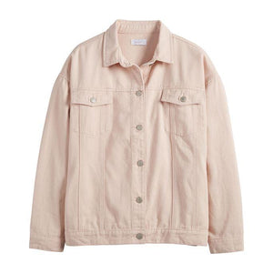 Shaw Boyfriend Jacket - Blush