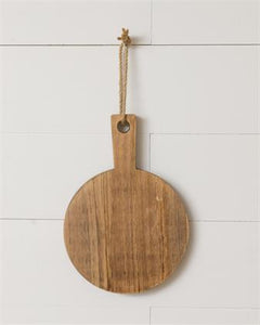 Small Round Hanging Cutting Board
