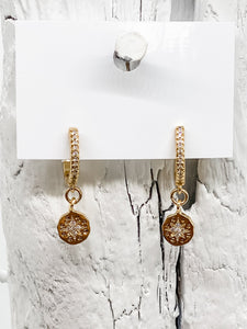 Kara Gold Earrings