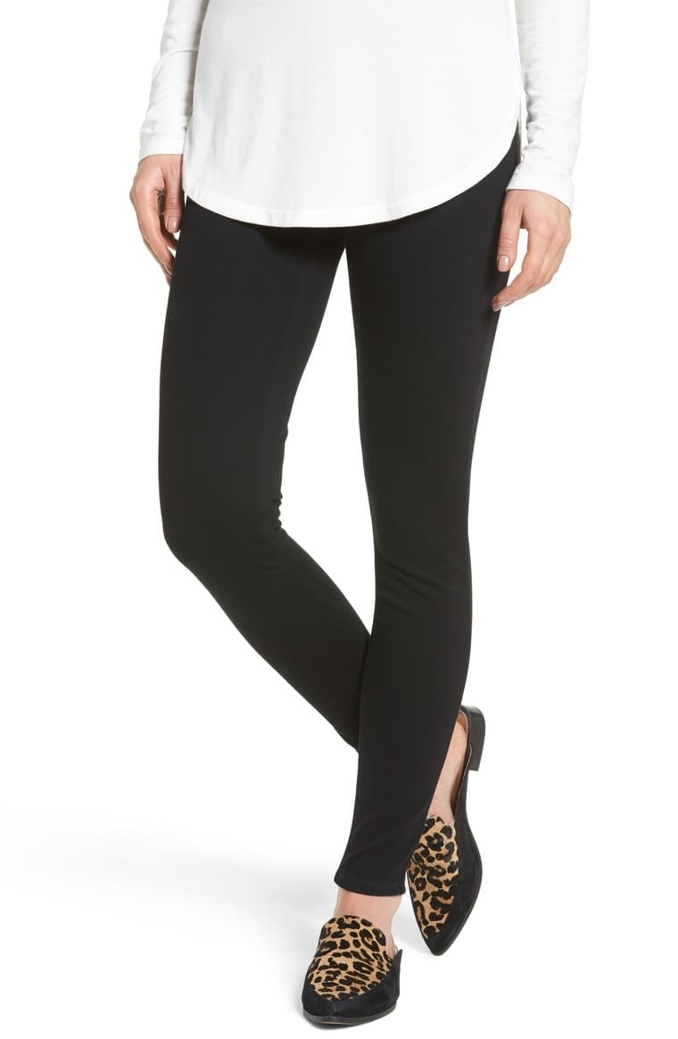 SPANX Black Jeanish Leggings