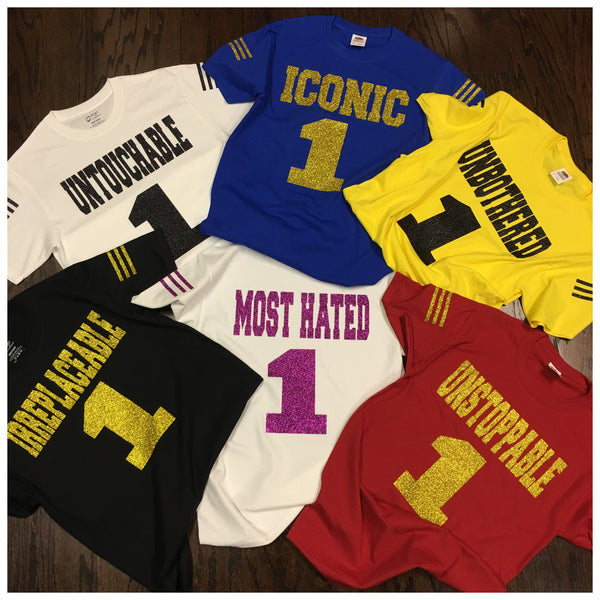 MOST HATED Jersey Tee (Glitz)