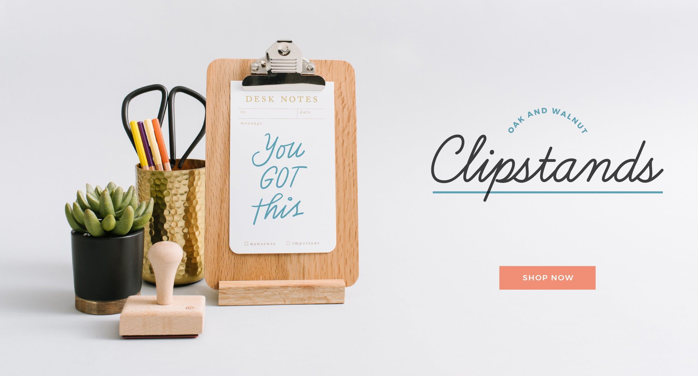 Clipstands by Letterfolk