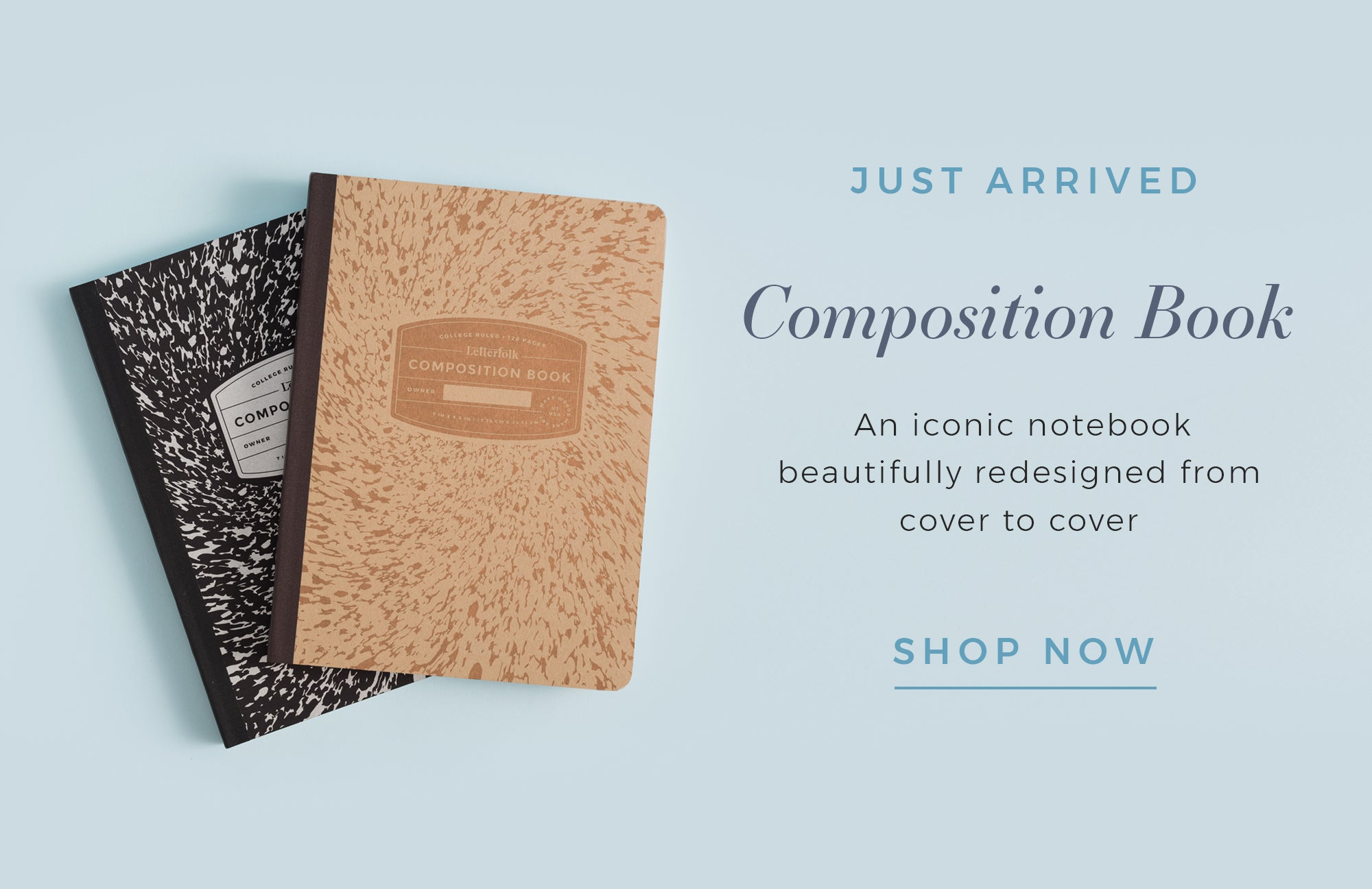 Composition Book by Letterfolk