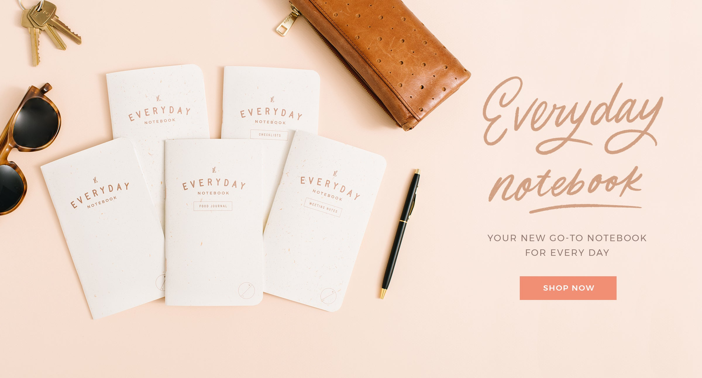 Everyday Notebook by Letterfolk