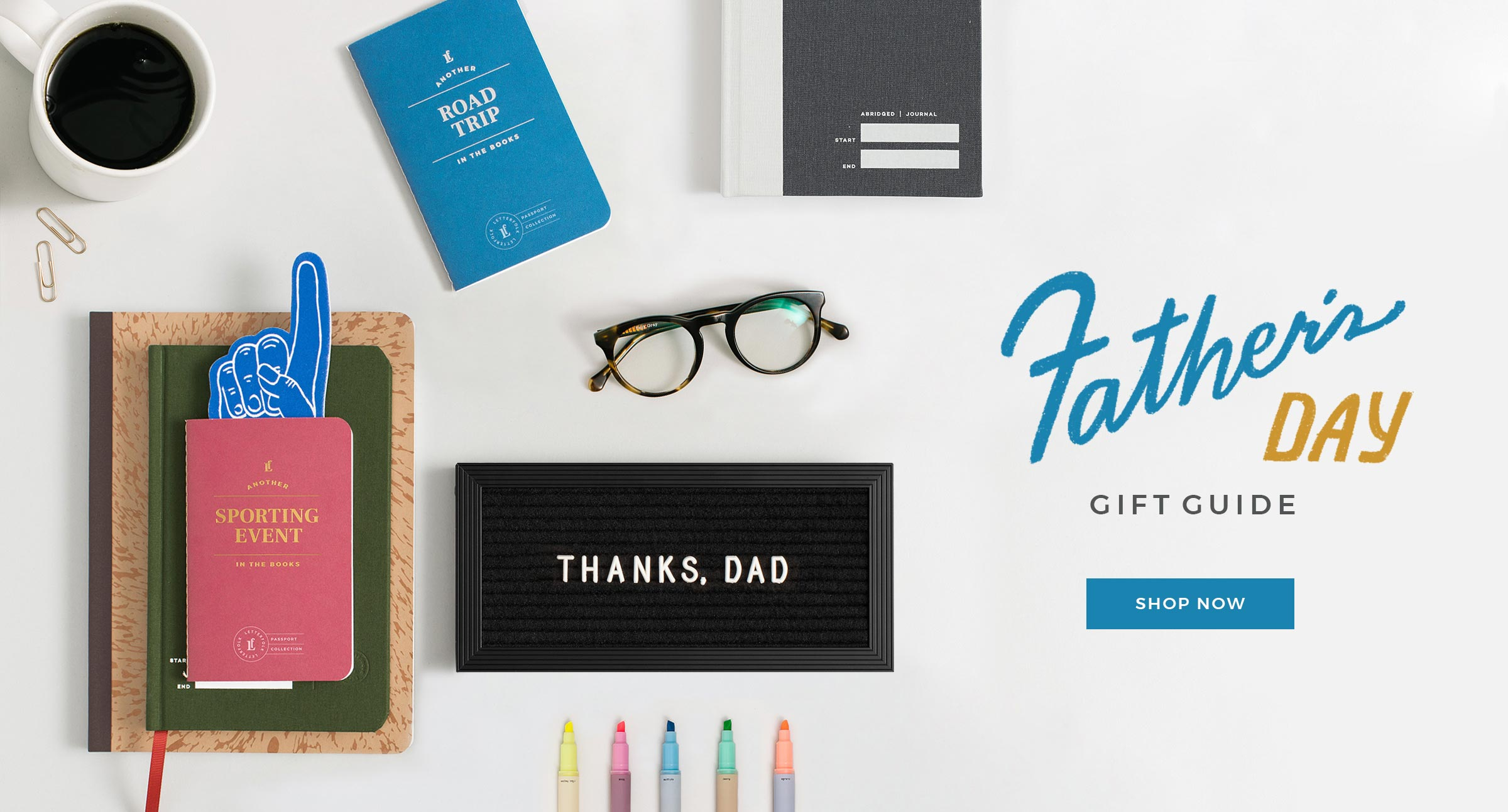 Father's Day Gift Guide by Letterfolk