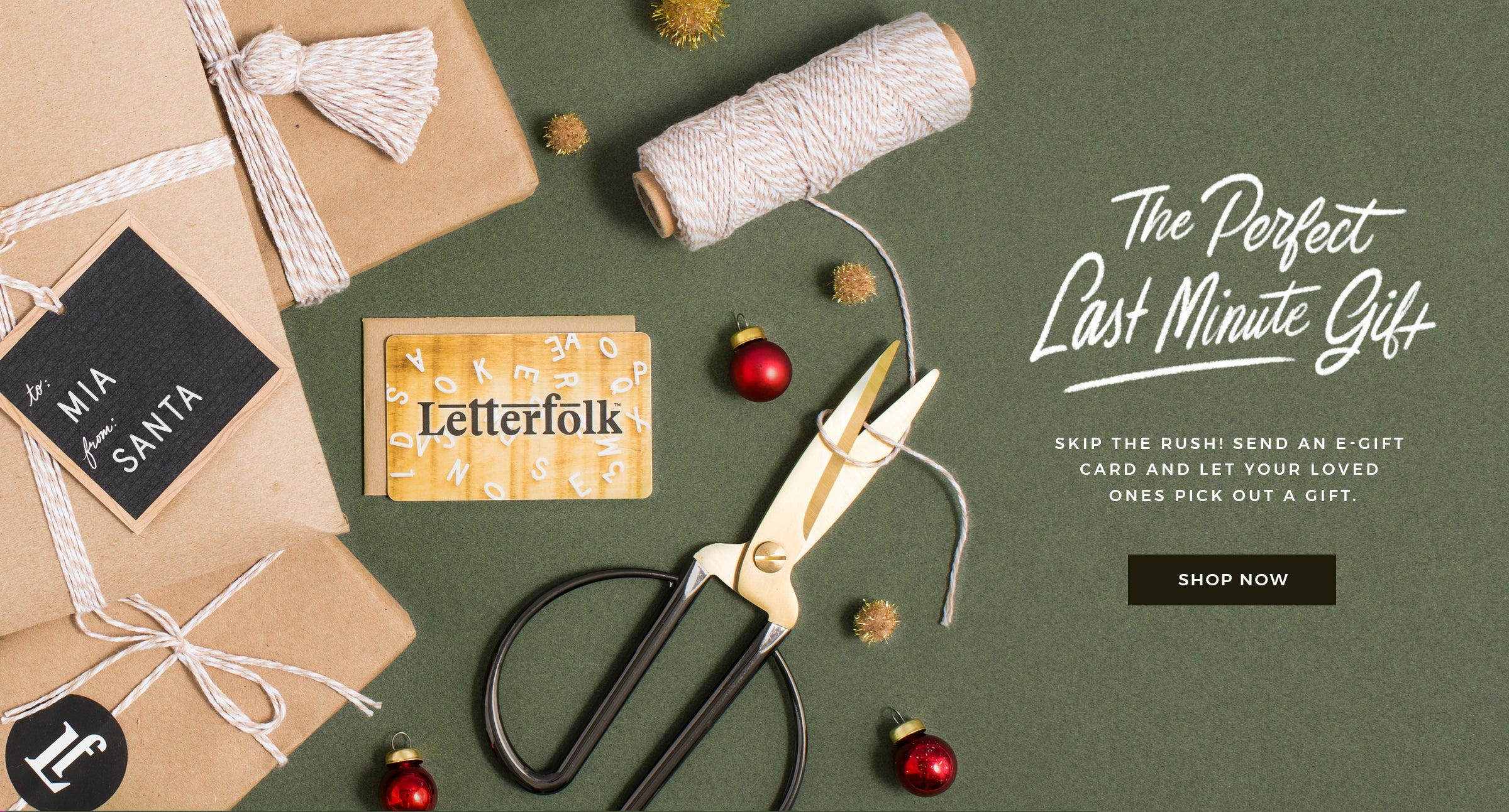 Shop Letterfolk Products