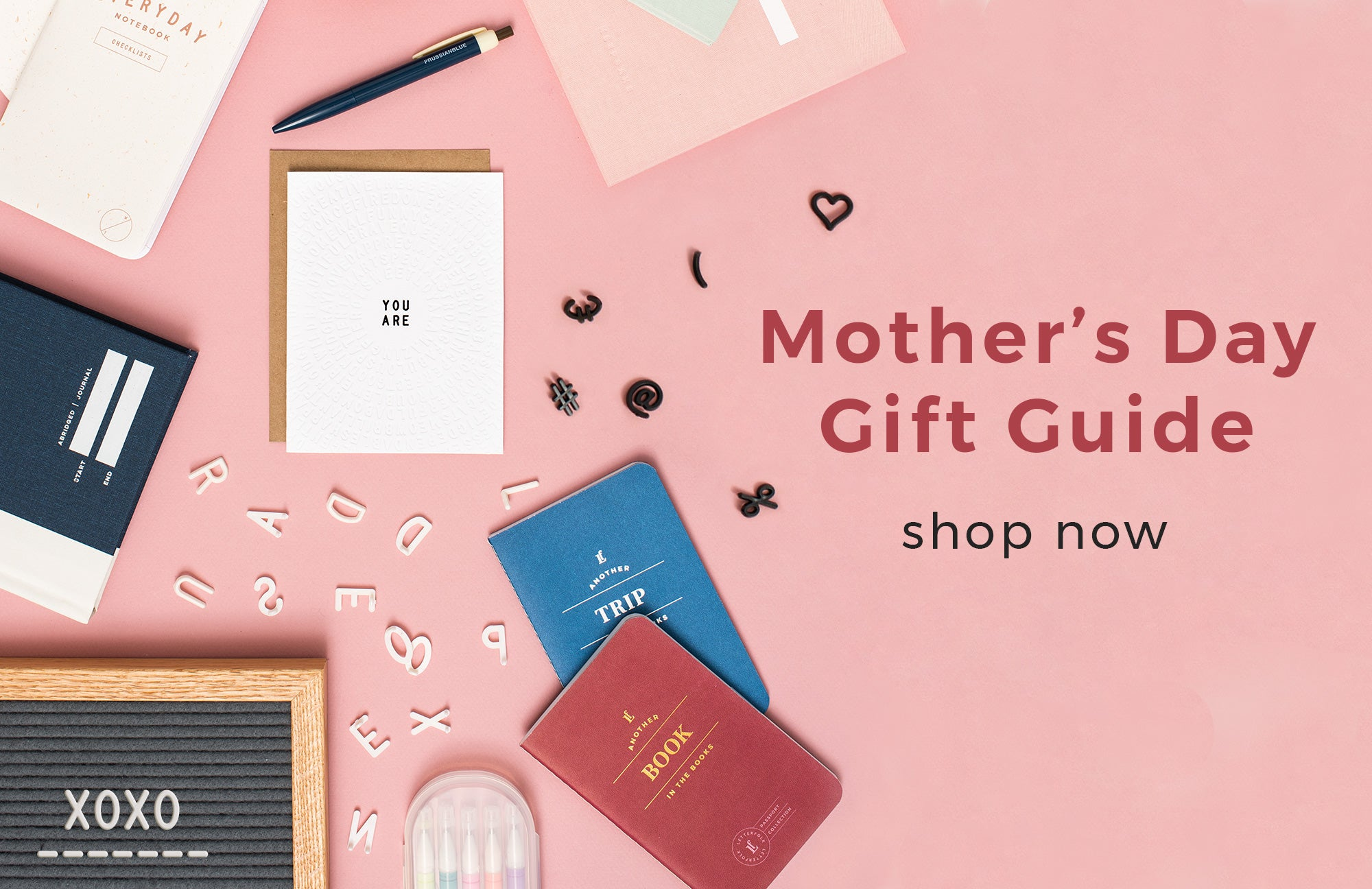 Gift Guide by Letterfolk