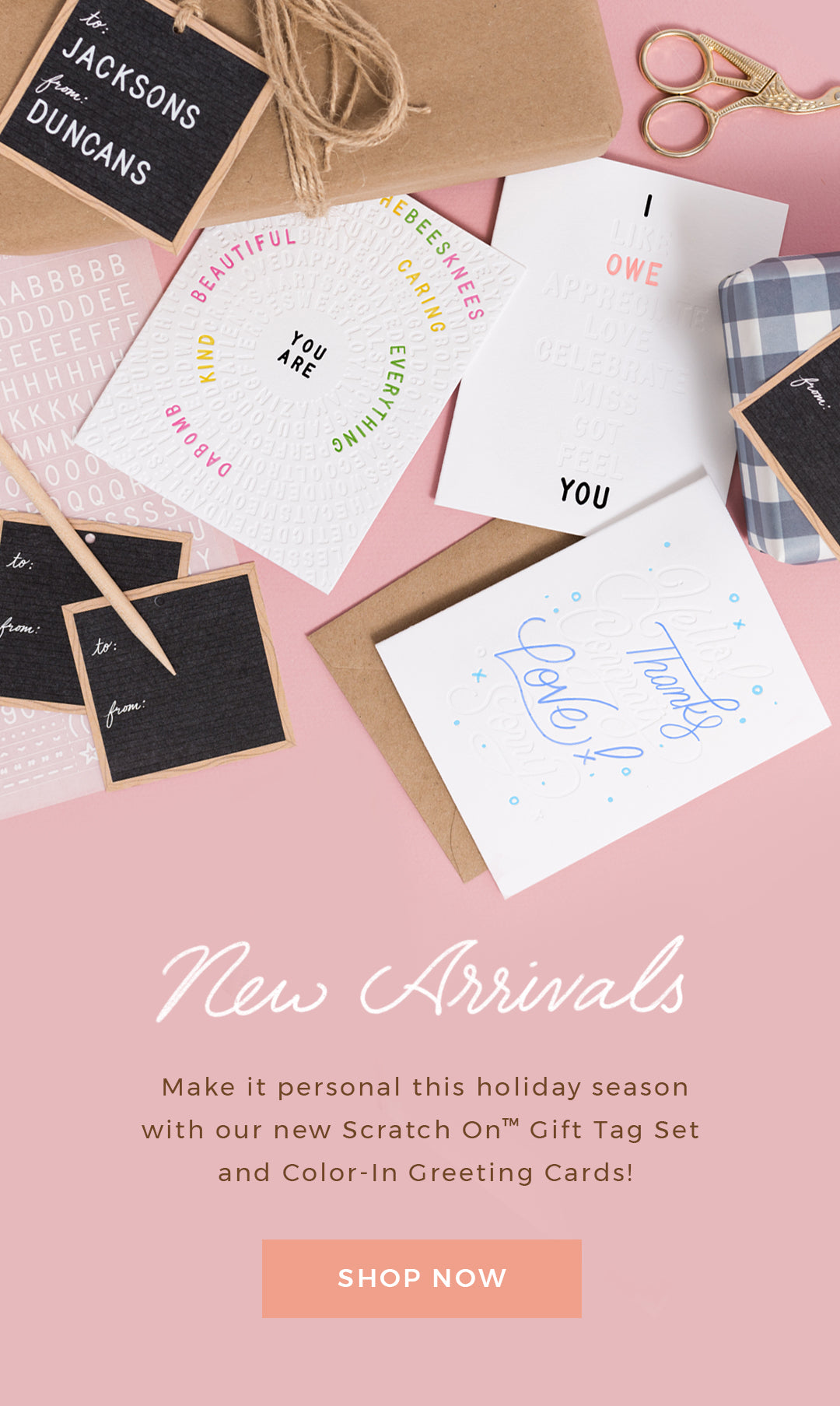 Shop New Arrivals by Letterfolk