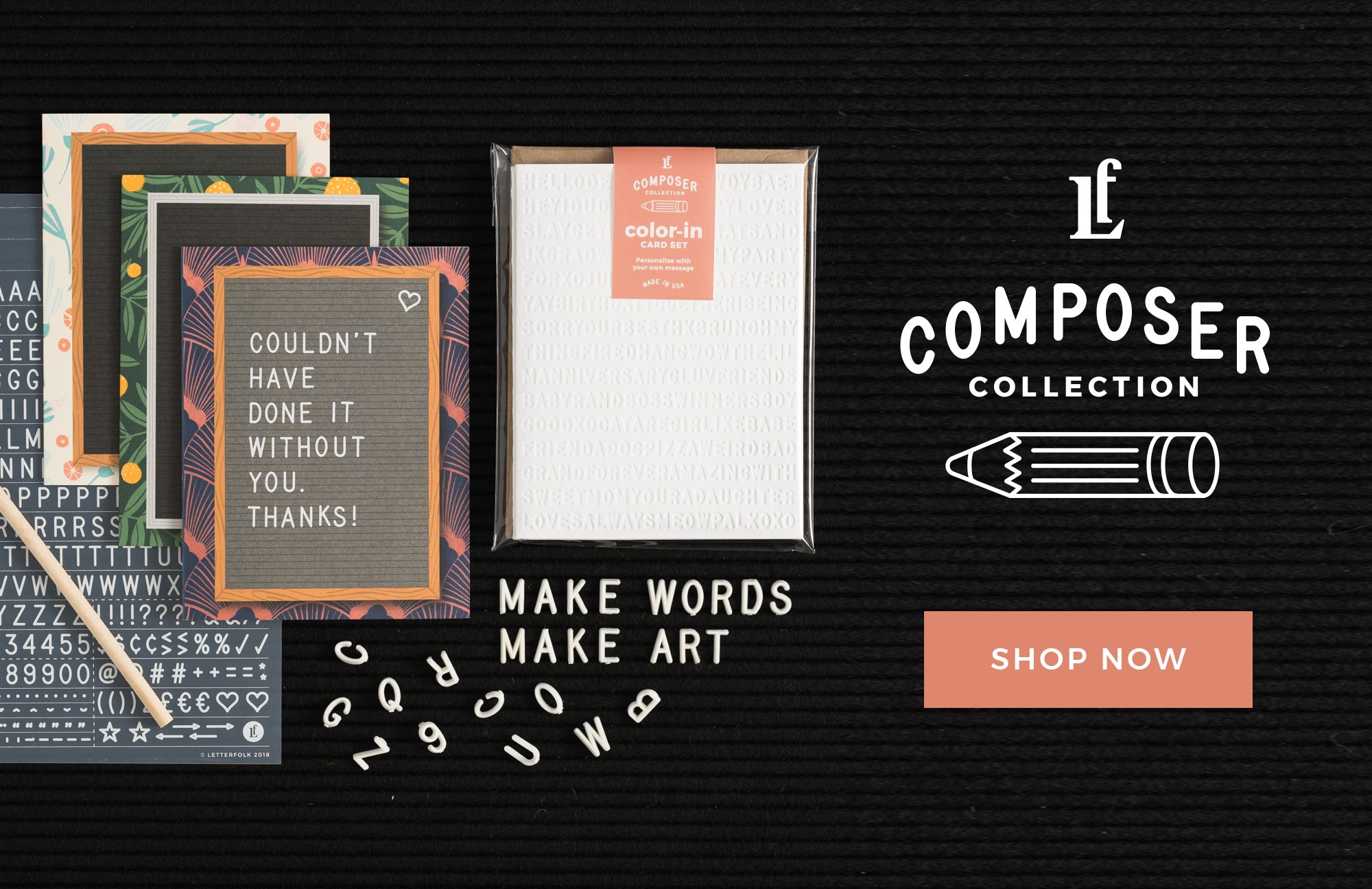 Composer Collection by Letterfolk
