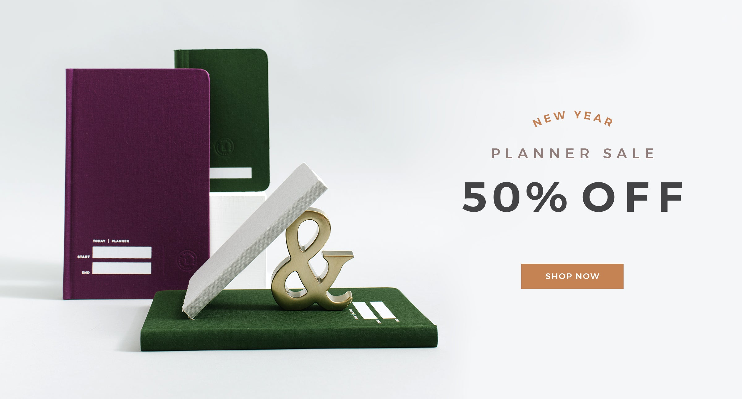 Planner Sale by Letterfolk