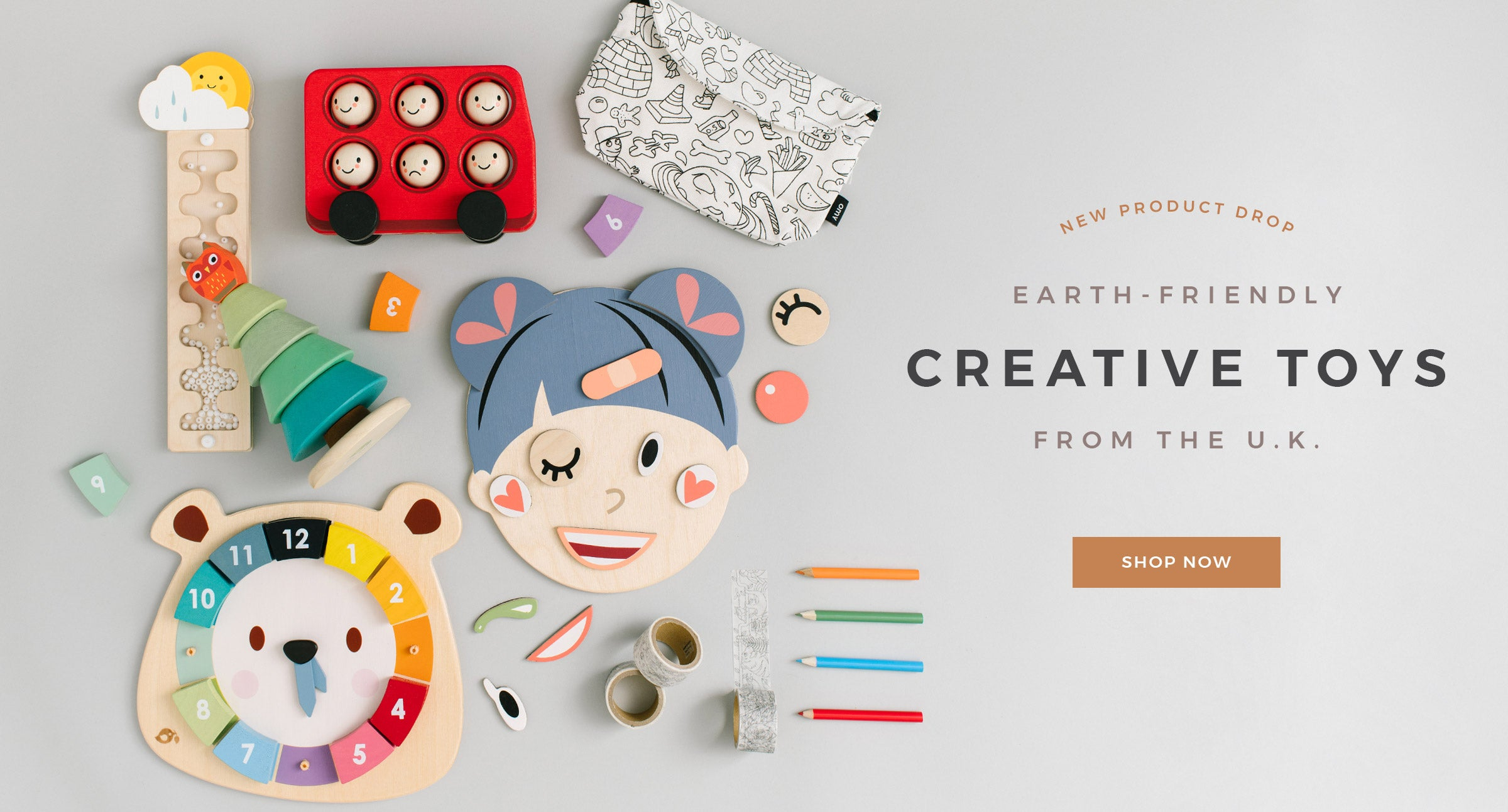 Earth-Friendly Creative Toys from the U.K.