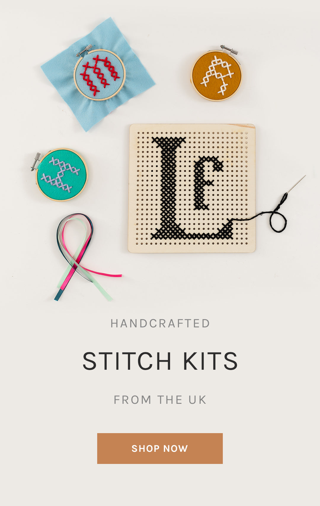 Handcrafted Stitch Kits from the U.K.