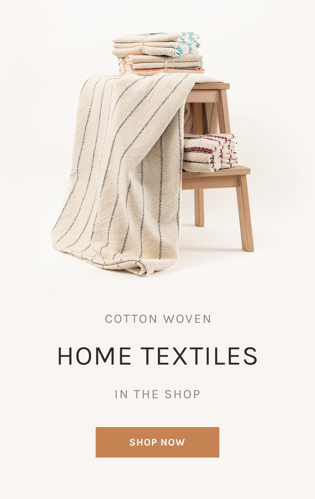 Cotton Woven Home Textiles in the Shop