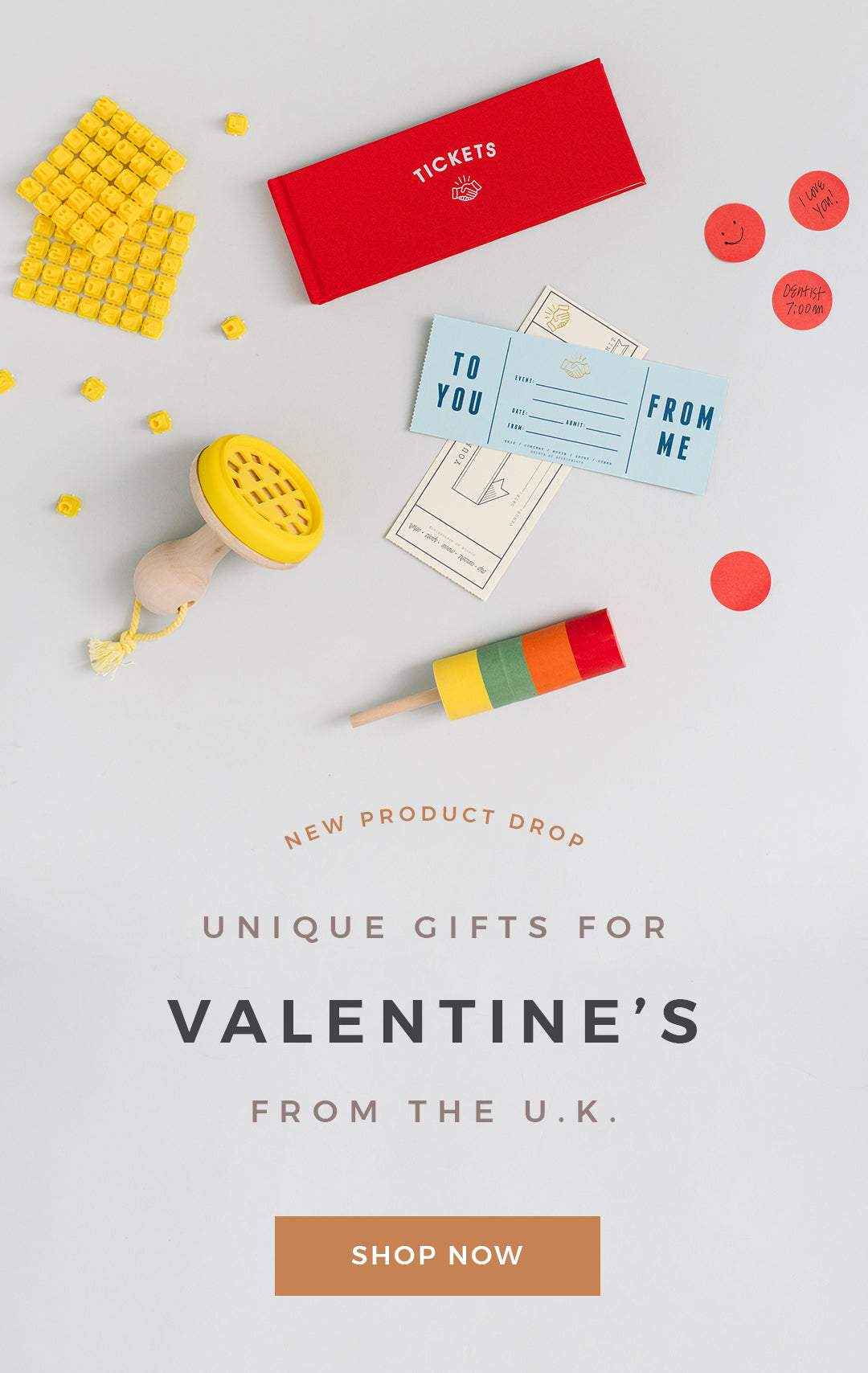 Unique Gifts for Valentine's from the U.K.