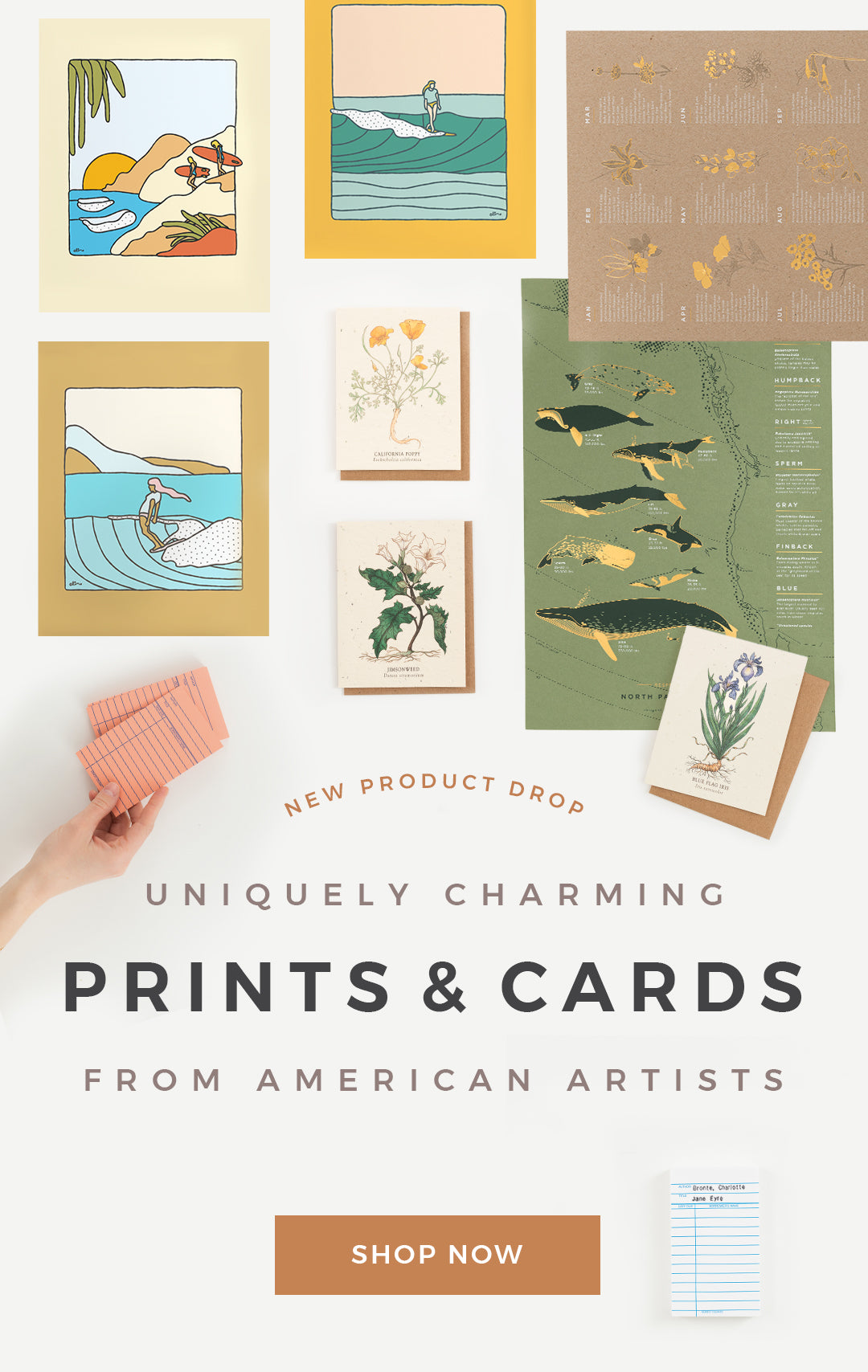 Uniquely Charming Prints & Cards from American Artists