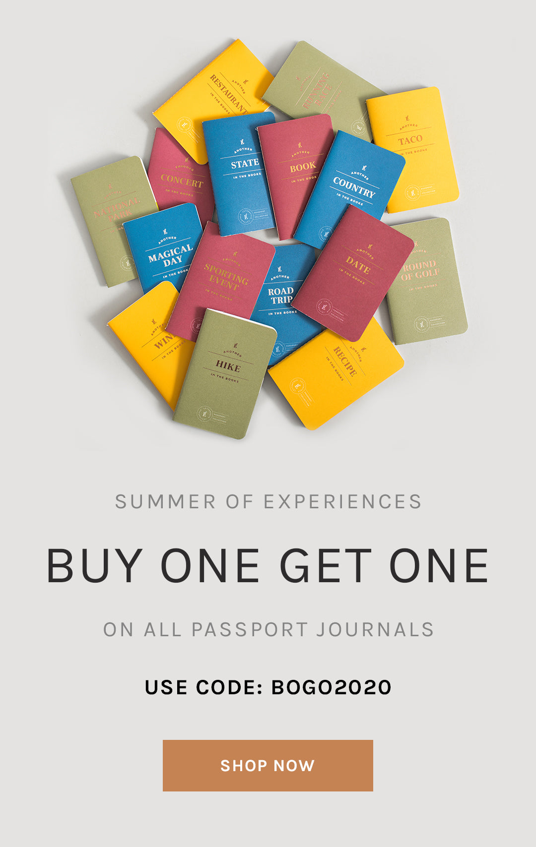 Buy One Get One on All Passport Journals