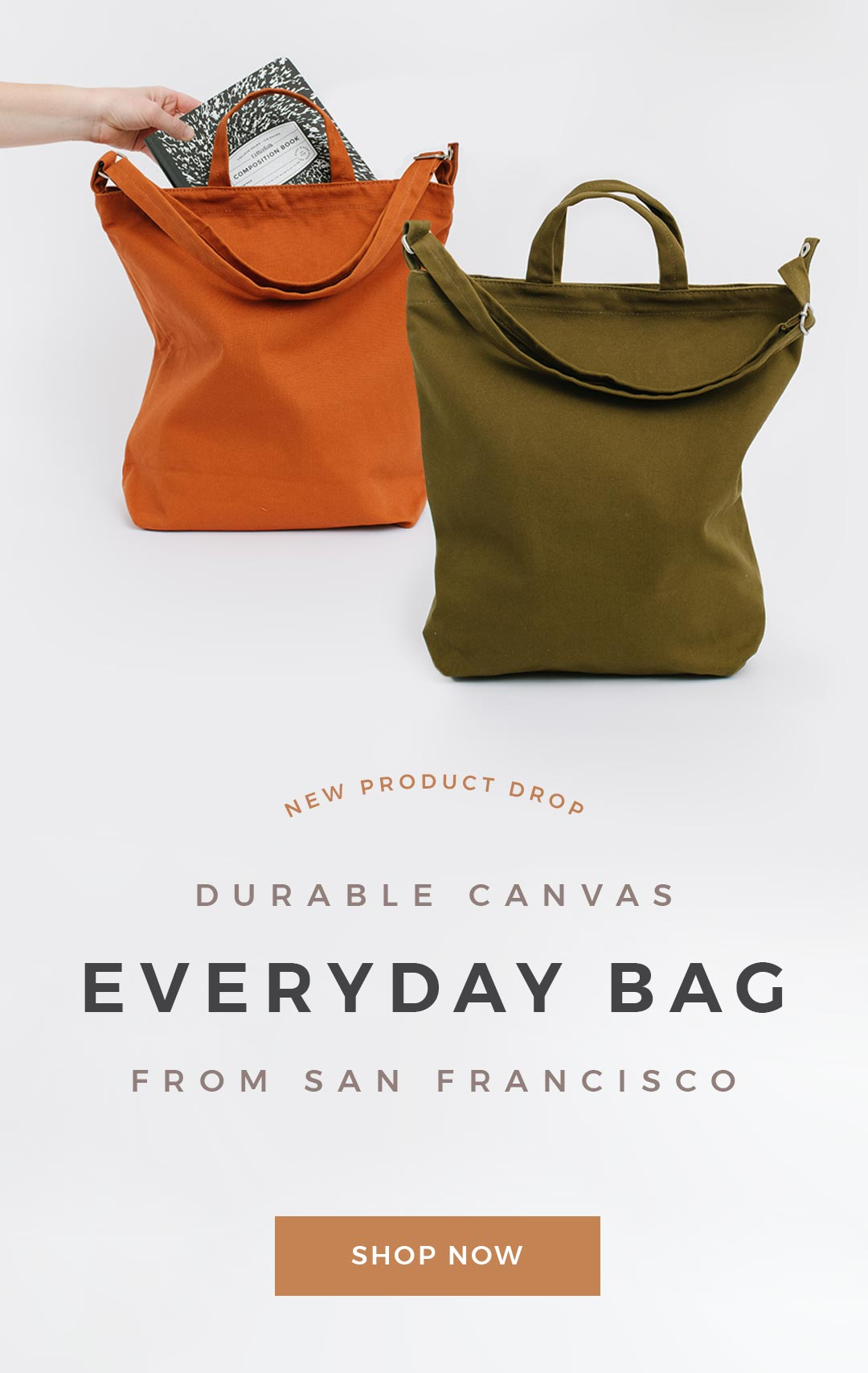 Everyday Bags by Letterfolk