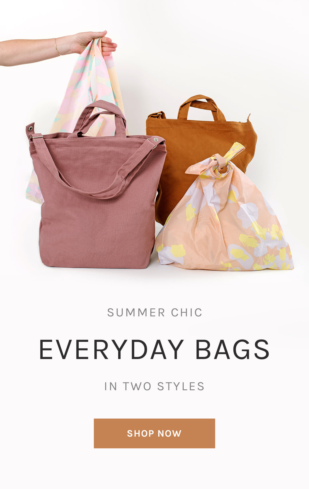 Summer Chic Everyday Bags in Two Styles