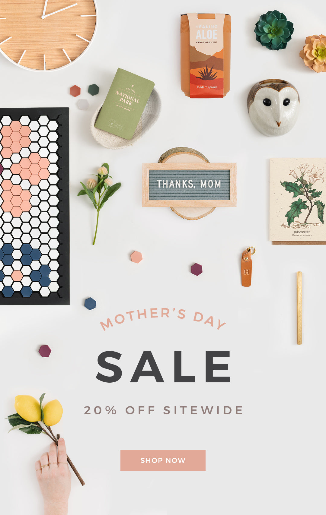 Mother's Day Sale - 20% off Sitewide
