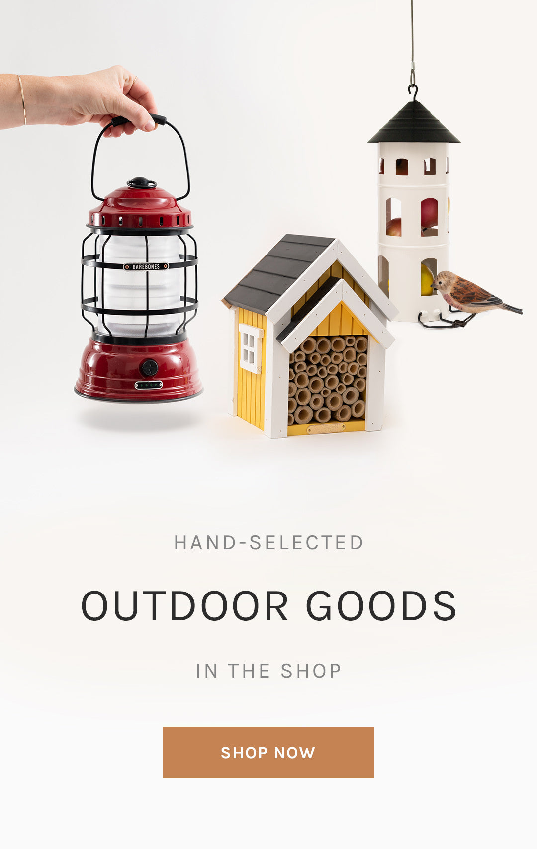Hand-Selected Outdoor Goods in the Shop