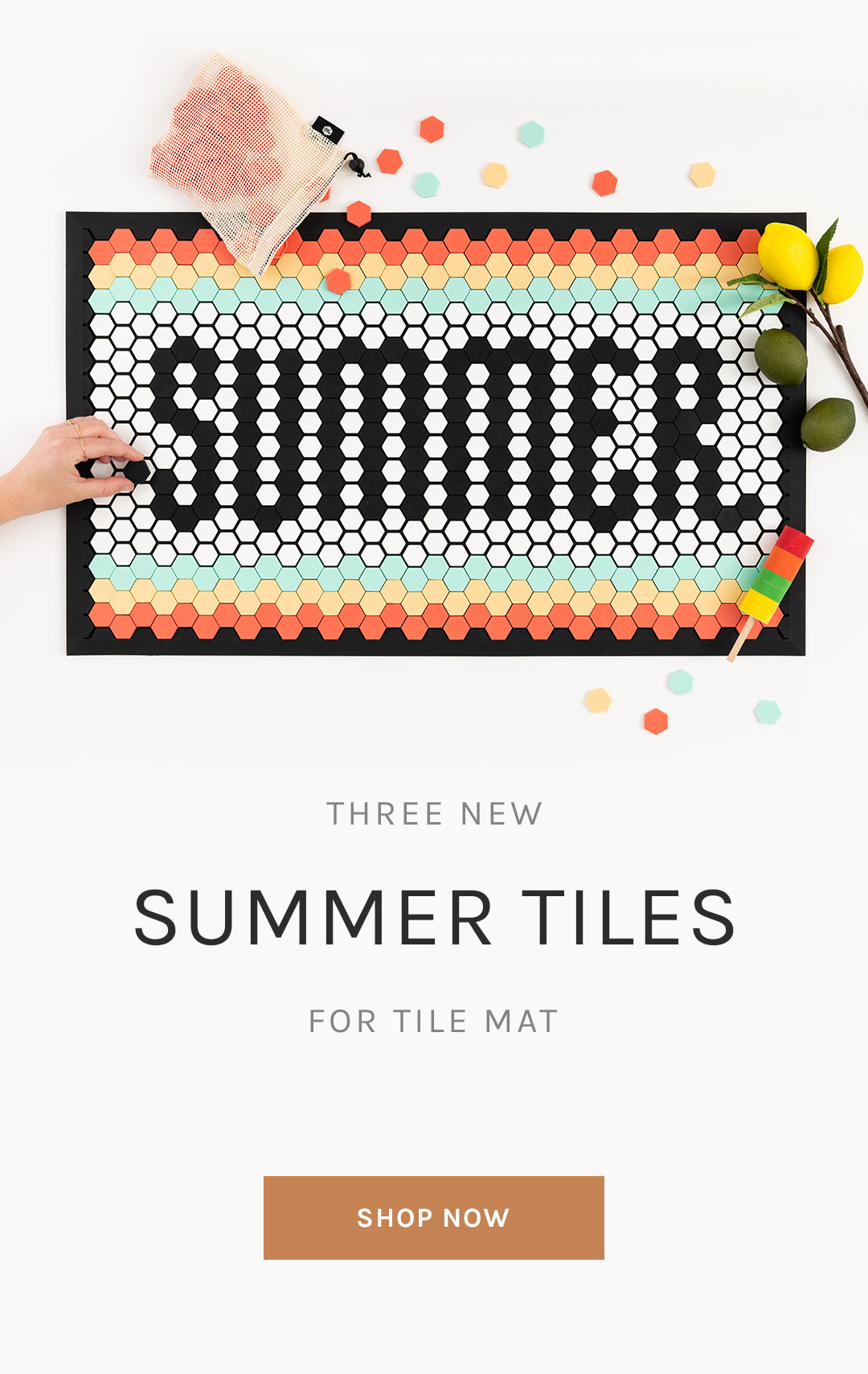 Three New Summer Tiles for Tile Mat