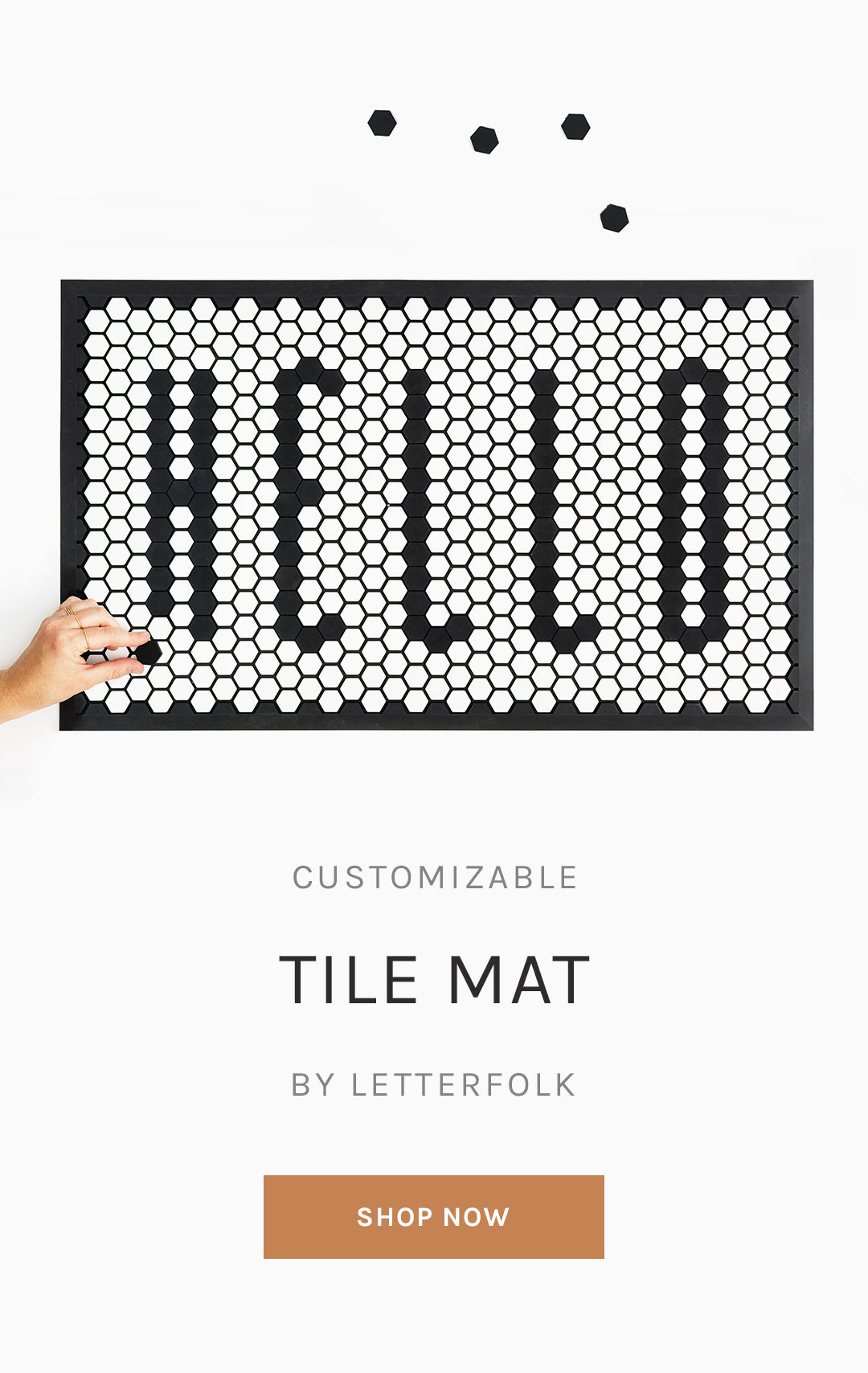 Tile Mat from Letterfolk