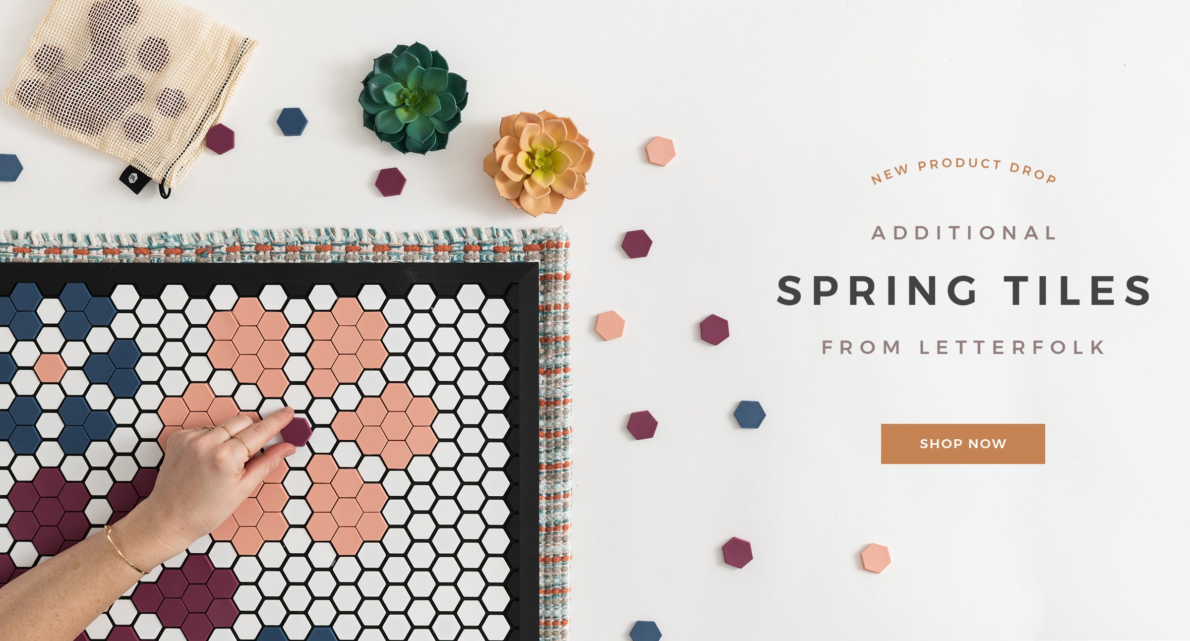 Additional Spring Tiles from Letterfolk