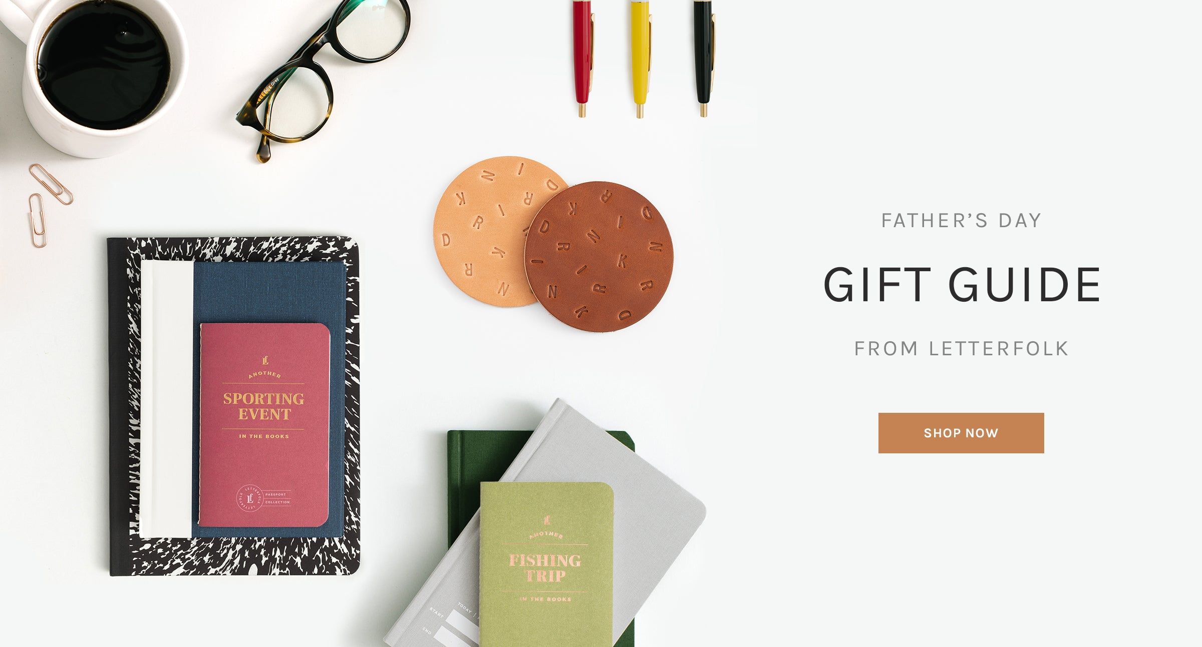 Father's Day Gift Guide from Letterfolk
