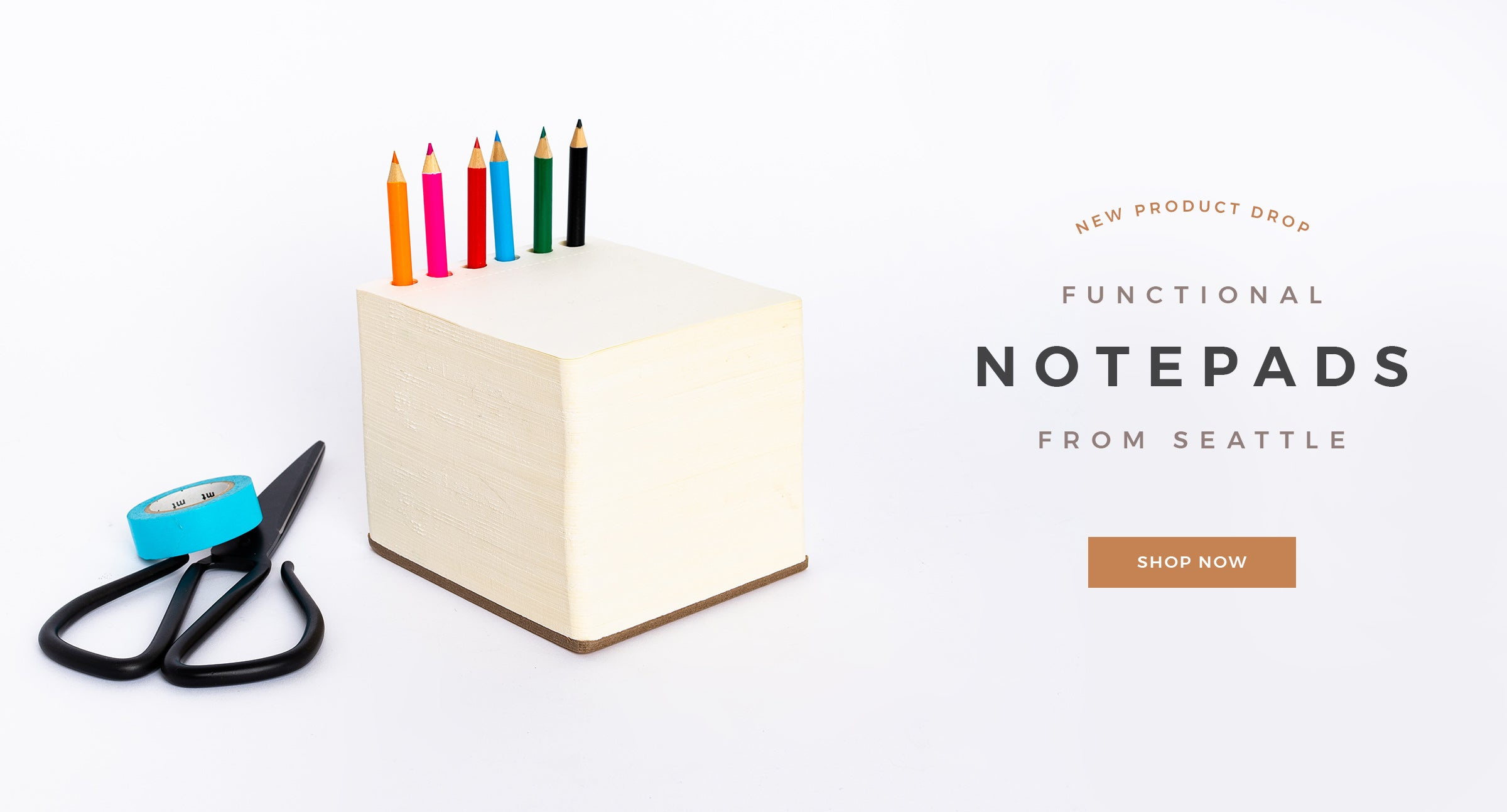 Block Notepads by Letterfolk