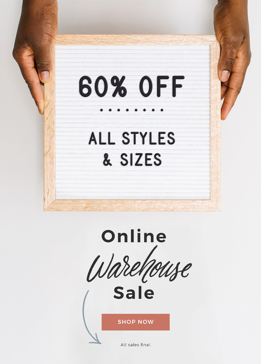 Online Warehouse Sale by Letterfolk
