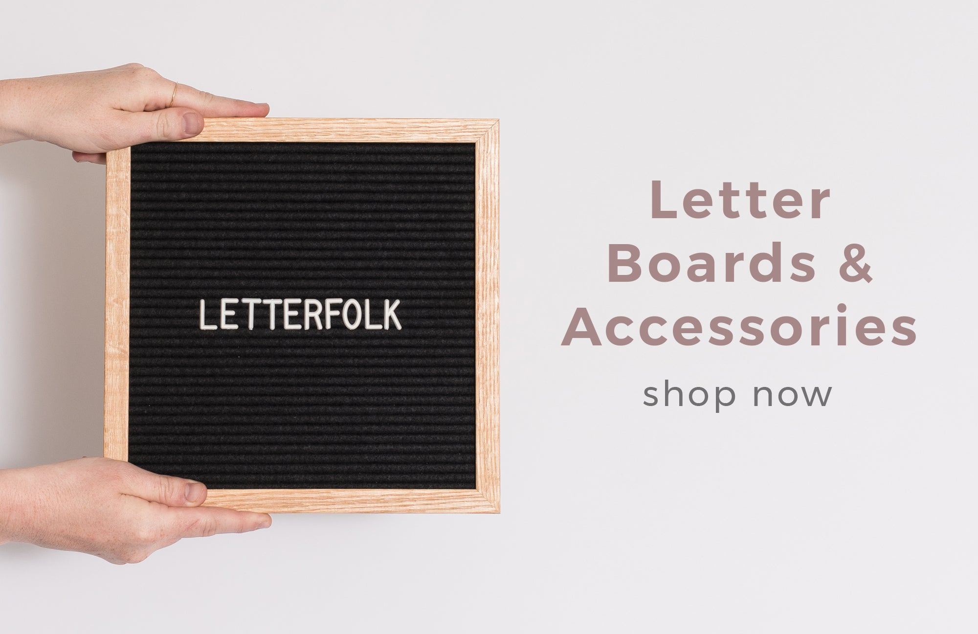 Letter Boards by Letterfolk
