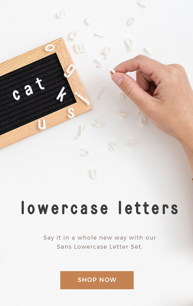 Lowercase Letter Set by Letterfolk