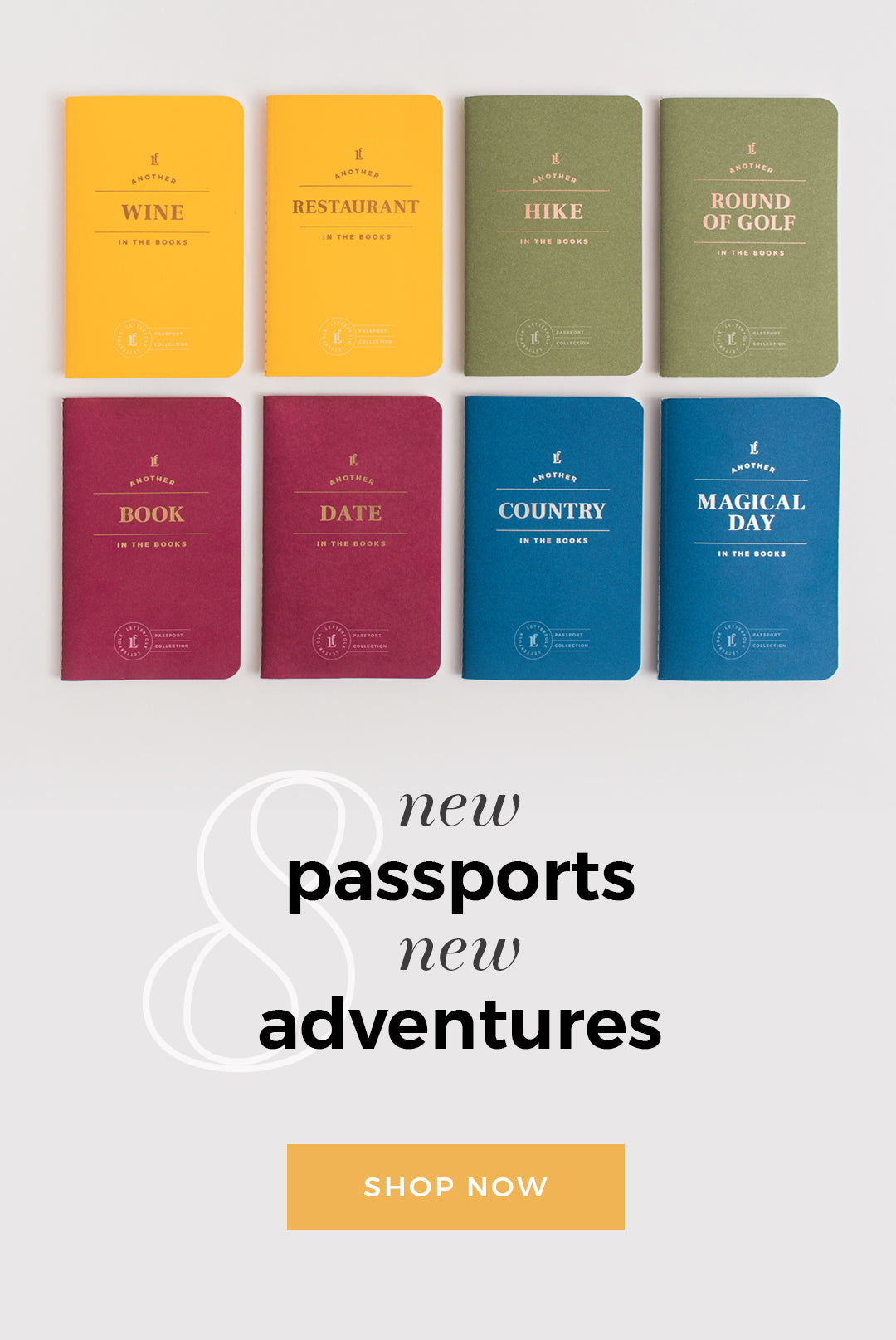 The Newest Additions to the Passport Collection