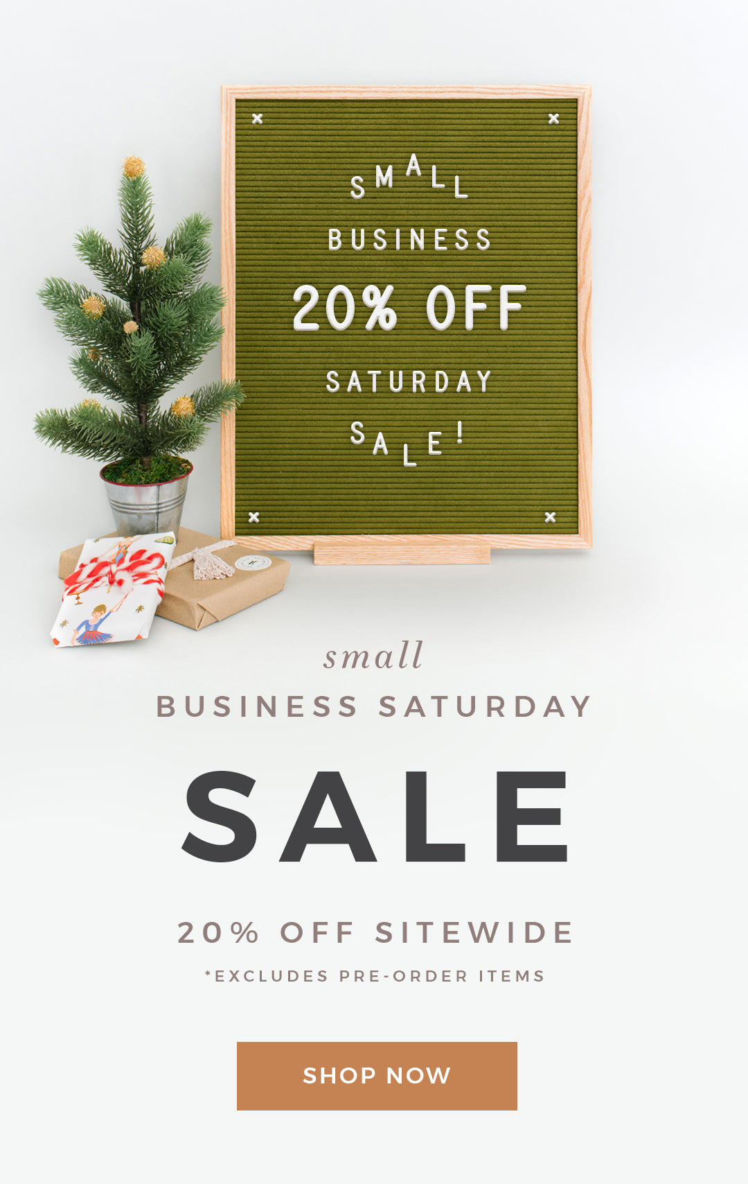 Small Business Saturday at Letterfolk
