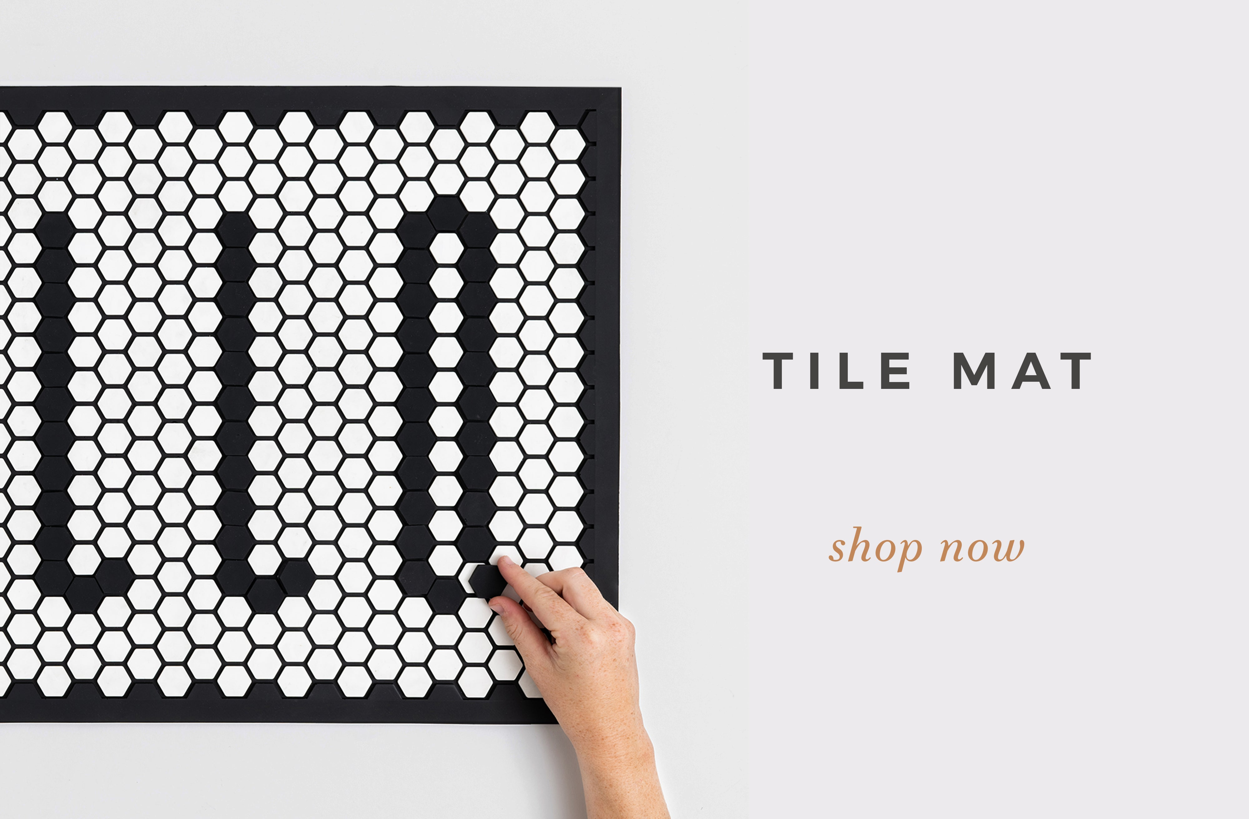Tile Mat by Letterfolk