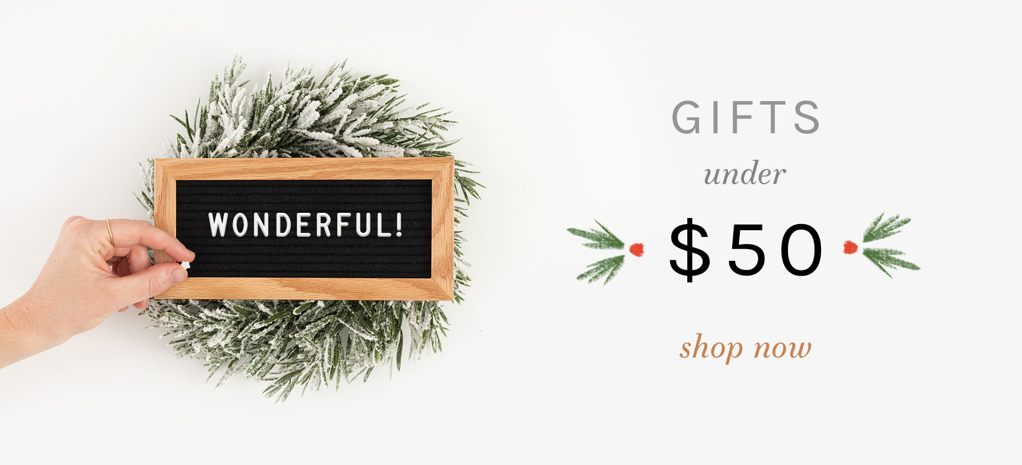 Gift Guide 2020: Under $50