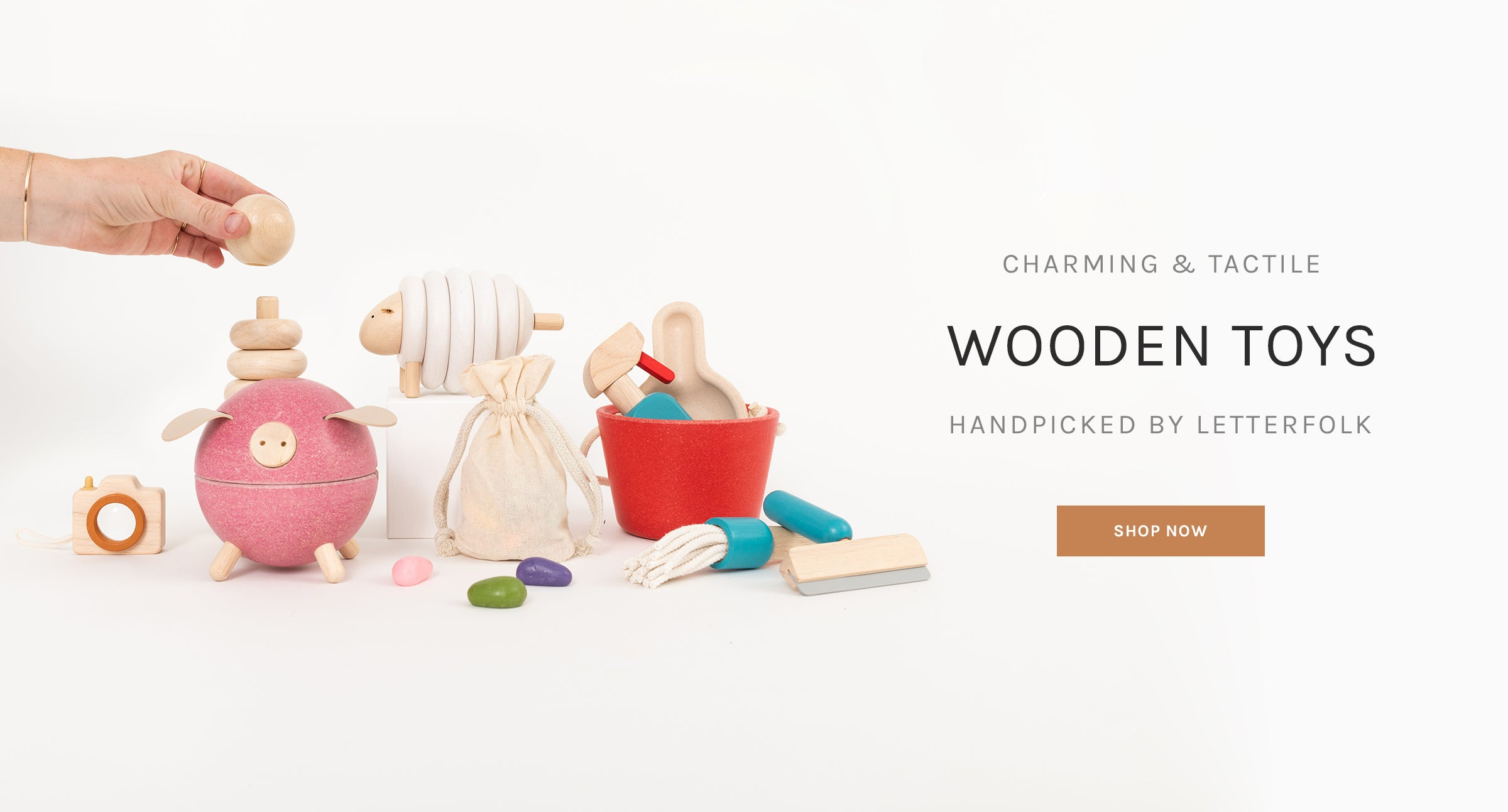 Charming & Tactile Wooden Toys Handpicked by Letterfolk