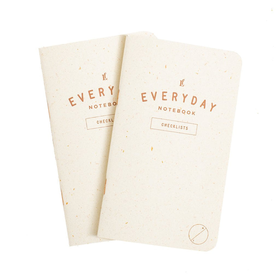 Everyday Checklists Notebook 2-Pack - Letterfolk